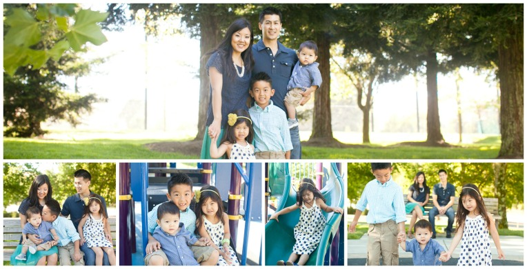 Hom Family Photo Collage