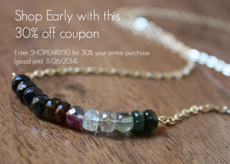 11 19 2013 - Mint & Bloom Shop Early Coupon