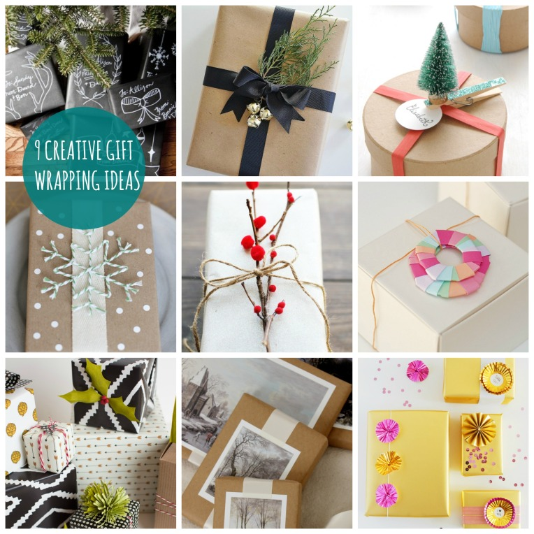 9 Creative Gift Wrapping Ideas