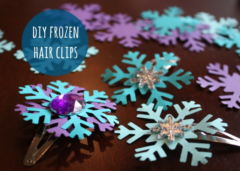 Frozen Hair Clips