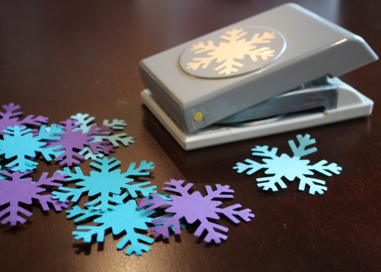 Punch Snowflakes