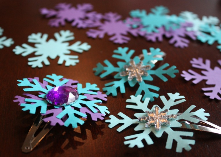 Frozen Hair Clips Finished