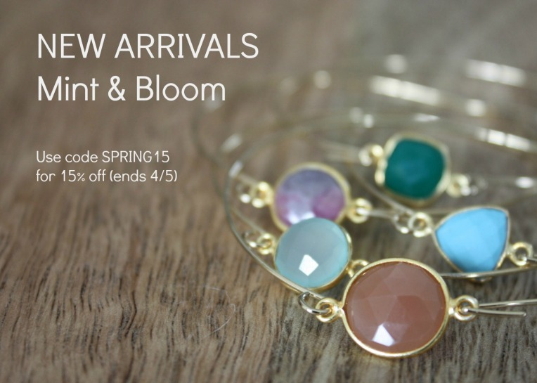 Mint + Bloom Spring Jewelry Sale